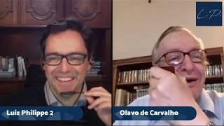 Conversa entre Olavo de Carvalho e Luiz Philippe de Orleans e Bragança