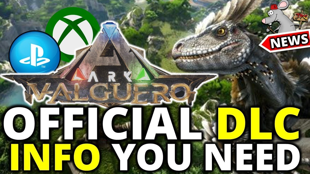 ARK: VALGUERO RELEASE INFO CREATURES AND MORE! RIDEABLE