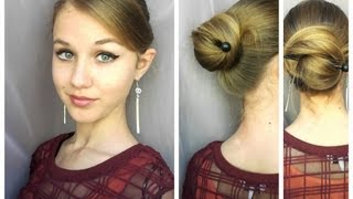 Easy Summer Quick Bun using only Stick/Pencil Thumbnail
