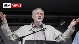 Antisemitism: Jeremy Corbyn suspended from Labour for comments after equalities report