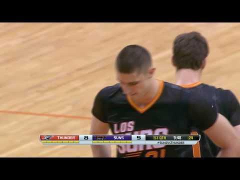 Alex Len With Force | Oklahoma City Thunder vs Phoenix Suns | March 06, 2014 | NBA 2013-2014