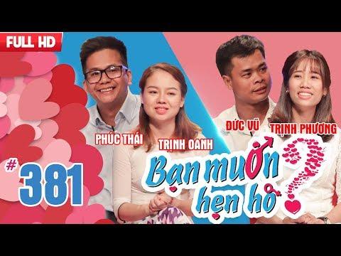 WANNA DATE| EP 381 UNCUT| Phuc Thai - Trinh Oanh | Duc Vu - Trinh Phuong| 060518 💖