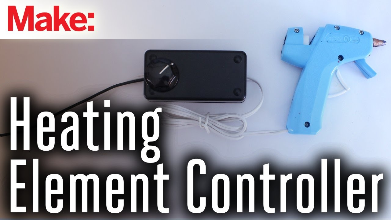 Control Circuit For Heating Elements Youtube Using An Scr Allows The Use Of Lowvoltage Electronics To