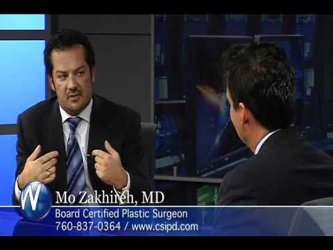 Dr. Mo Zakhiren discussing mommy makeovers palm desert with randy alvarez