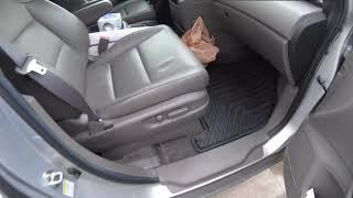 Honda Odyssey OEM All Season floor mats Review