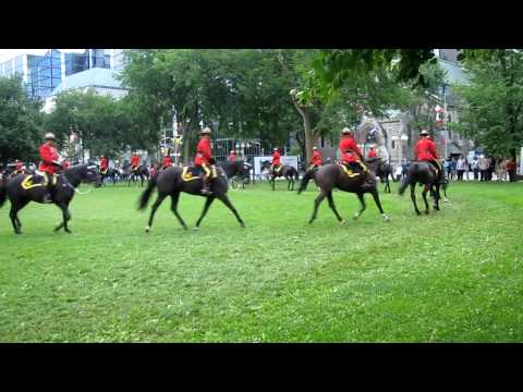 Canada Day 2010 - RCMP Musical Ride rehearsal