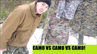 marpat vs ucp acu vs scorpion multicam camo patterns part one of 3