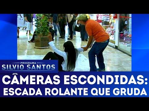 Escada Rolante que Gruda | Câmeras Escondidas (25/11/18)