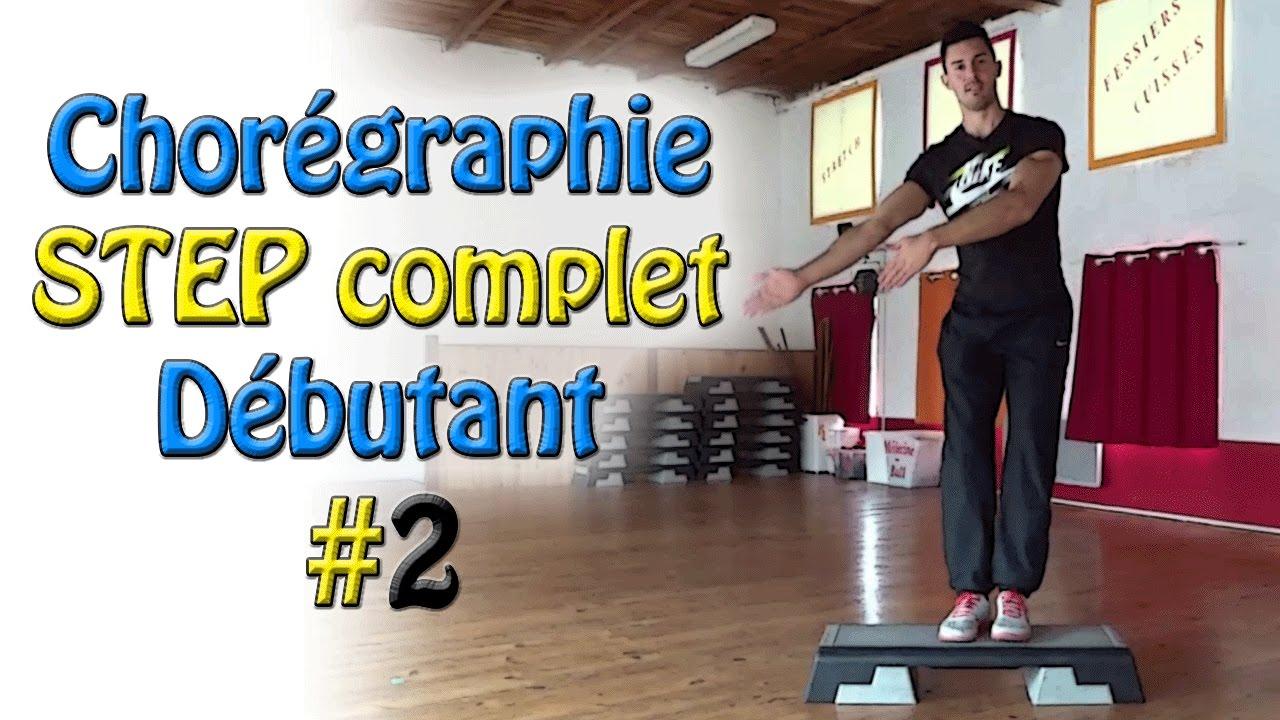 Chorégraphie STEP débutant #2 - Cours de STEP complet ...