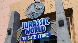 Inside the Jurassic World Tribute Store with Tuggs