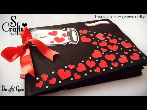Scrapbook 💗 | Handmade | S Crafts | gift for her | gift for him | scrapbook ideas | Handmade gifts.