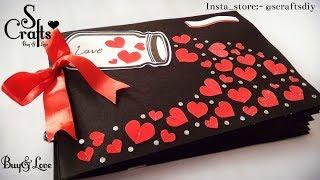 Scrapbook 💗   Handmade   S Crafts   gift for her   gift for him   scrapbook ideas   Handmade gifts.