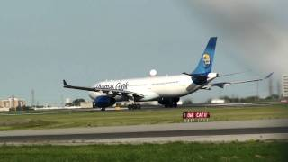 Thomas Cook Scandinavia A333 departing YYZ on 06L