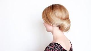 видео Как сделать пучок на голове, или 5 шикарных «бубликов»