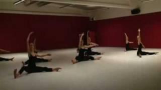 martha graham based floor work teacher andreas constantinou