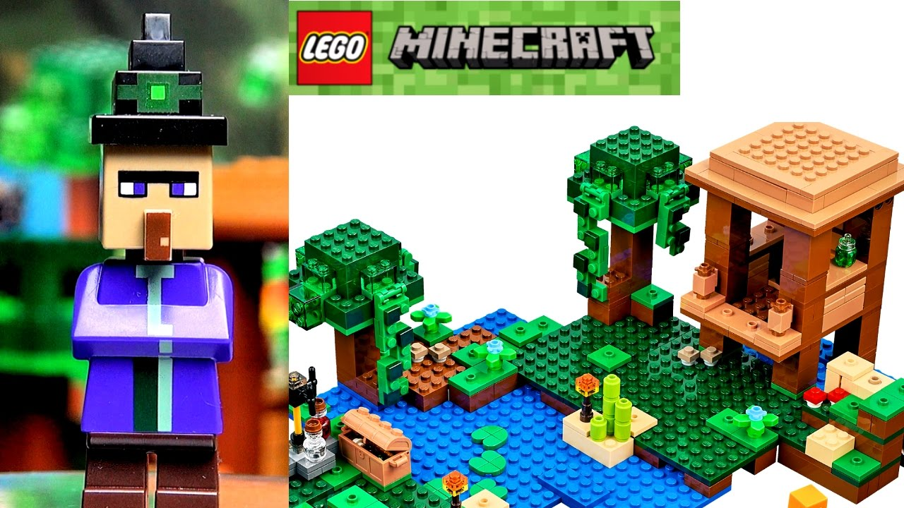 21134 База на водопаде LEGO Minecraft - YouTube