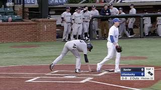 HIGHLIGHTS   Xavier Baseball Wins at No. 8 Kentucky