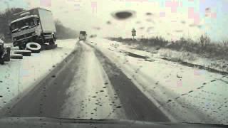 ДТП возле блокпоста Павлограда(, 2016-01-17T19:19:07.000Z)