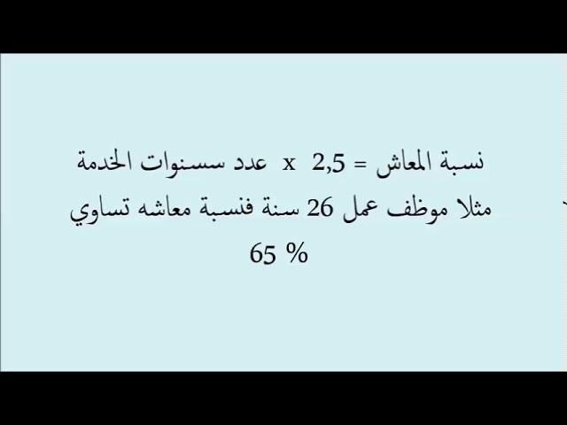 كيفية حساب معاش التقاعد في الجزائر Youtube