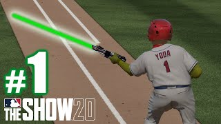 BABY YODA! | MLB The Show 20 | Road to the Show #1