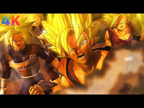 Dragon Ball Raging Blast 2 - Opening Cinematic & Ending Remastered (4k)  