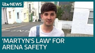 Calls for 'Martyn's law' security review at entertainment venues | ITV News