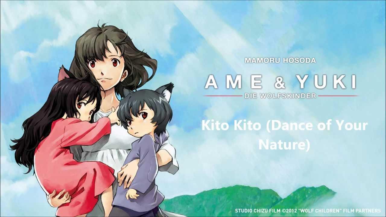 Ame Yuki Die Wolfskinder Dance Of Your Nature Soundtrack Anime Filme Anime Wolf Anime Deutsch