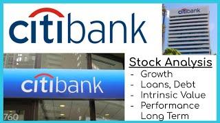 CitiBank Stock Analysis Long Term
