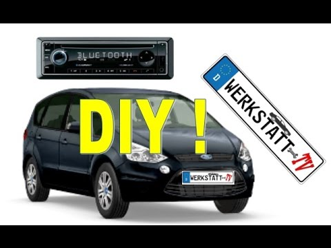 ford s max galaxy radio ausbauen austauschen replace. Black Bedroom Furniture Sets. Home Design Ideas