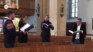 """Thomas Tallis (1505-1585) - """"O Lord, give thy Holy Spirit"""" - ensemble polyharmonique"""