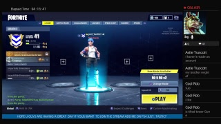 FORTNITE PS4 50 VS 50 SLEEP OVER WITH THE BOYS NEW UPDATE I LOVE KYLIE