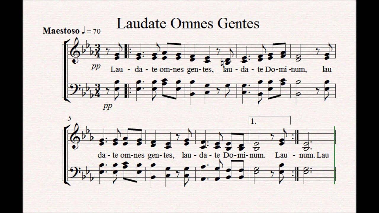 Laudate Omnes Gentes