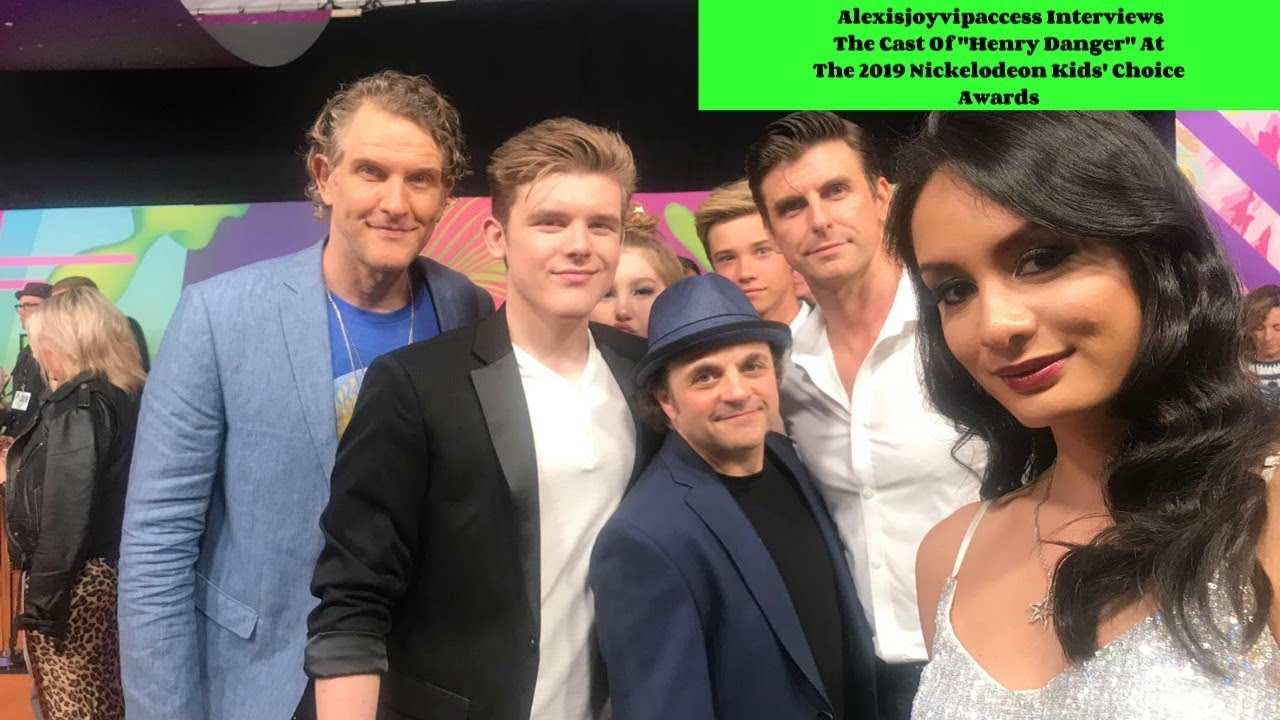 Henry Danger Cast Interview With Alexisjoyvipaccess - 2019 Nickelodeon KCA