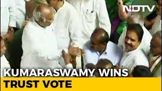 HD Kumaraswamy Wins Floor Test As BJP Walks Out Of Karnataka Assembly