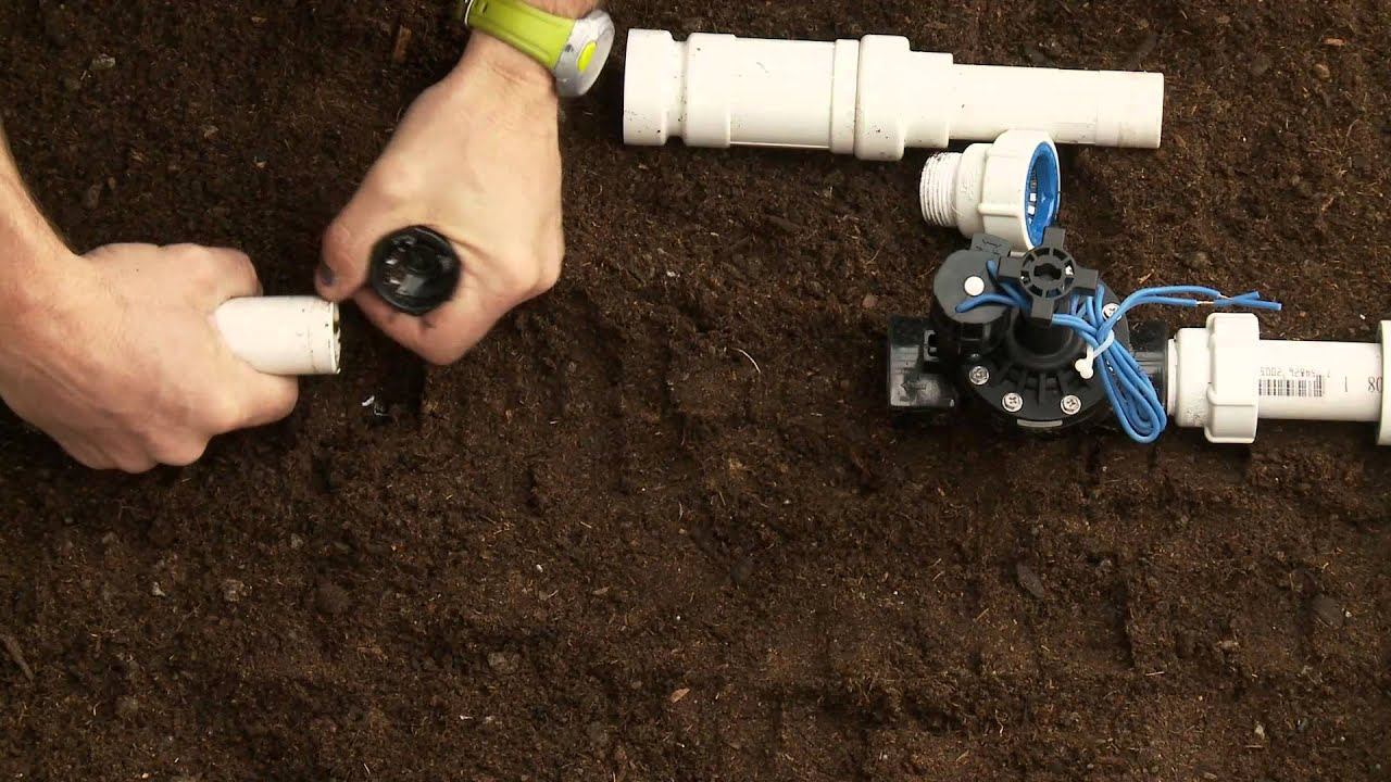 How To Repair PVC Sprinkler Pipe; Glueless Adapter & Slide