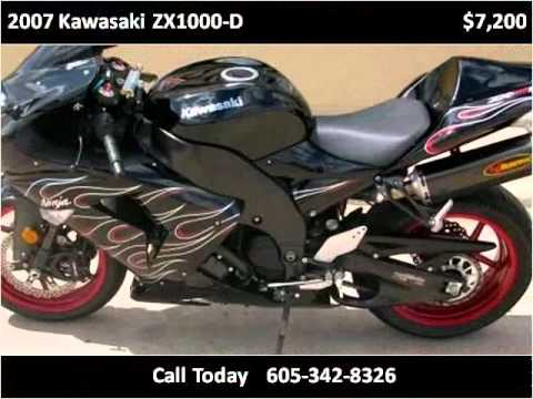 2007 kawasaki zx1000 d used cars rapid city sd youtube. Black Bedroom Furniture Sets. Home Design Ideas