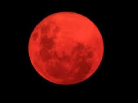 Red Moon Is the SIGN the Pole Flip is Coming!!