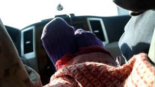 My Wife's Purple Socks and Dancing Feet Routine