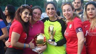 درخشش دختران فوتبالیست ایرانی در ایتالیا