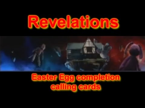 Revelations Easter Egg completion dark ops calling cards