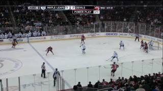 Devils Comeback vs Maple Leafs / Final 3 min of Game