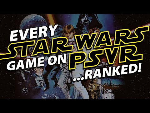 Every Star Wars Game on PlayStation VR... RANKED!