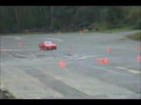 Cam's RX7 @ saratoga autocross.