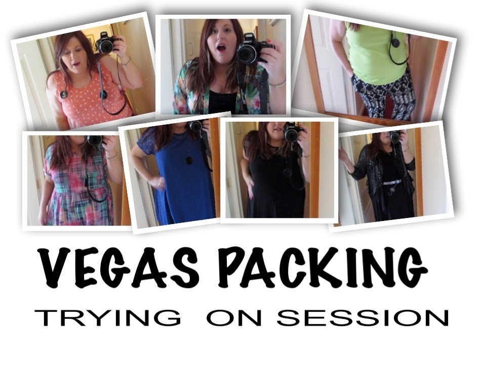 Vegas Packing Try On Session Plus Size Fashion Youtube