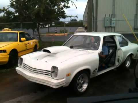 rick-racers-chevy-vega-playin-around-at-the-shop