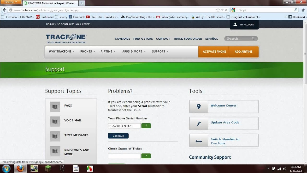 SOLVED: http://www tracfone com/phone - Fixya