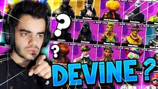 DEVINE MY SKIN on FORTNITE!! (Feat. A MYSTERY GIRL)