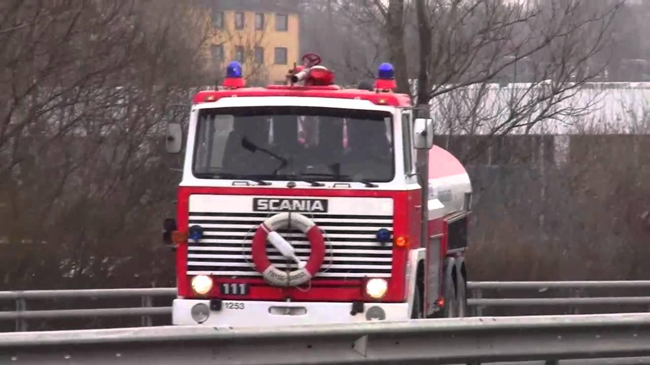 brandbil till salu