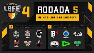 LBFF 4 - Rodada 5 - Grupos C e A | Free Fire