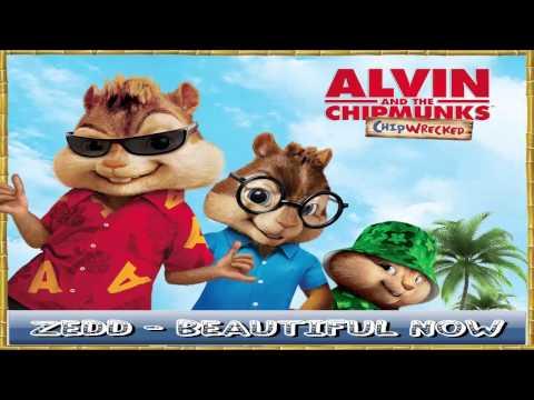 Zedd ft. Jon Bellion - Beautiful Now (Alvin and the Chipmunks)